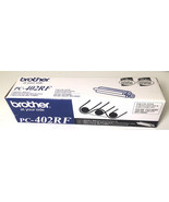 NEW Brother PC-402RF TWO fax toner refill rolls Brand New in Box FREE Sh... - $19.76