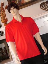 Pocket Polo Golf Shirt Hanes Stedman® 0504, Adult Hot Sports Colors Cott... - $21.55+