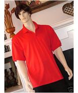 Pocket Polo Golf Shirt Hanes Stedman® 0504, Adult Hot Sports Colors Cott... - £15.51 GBP+