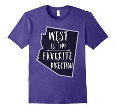 New Shirts - Arizona West Is My Favorite Direction Compass Arrows Shirt Men - $19.95+