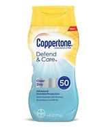Coppertone Defend & Care Clear Zinc Sunscreen Lotion Broad Spectrum SPF ... - $8.18