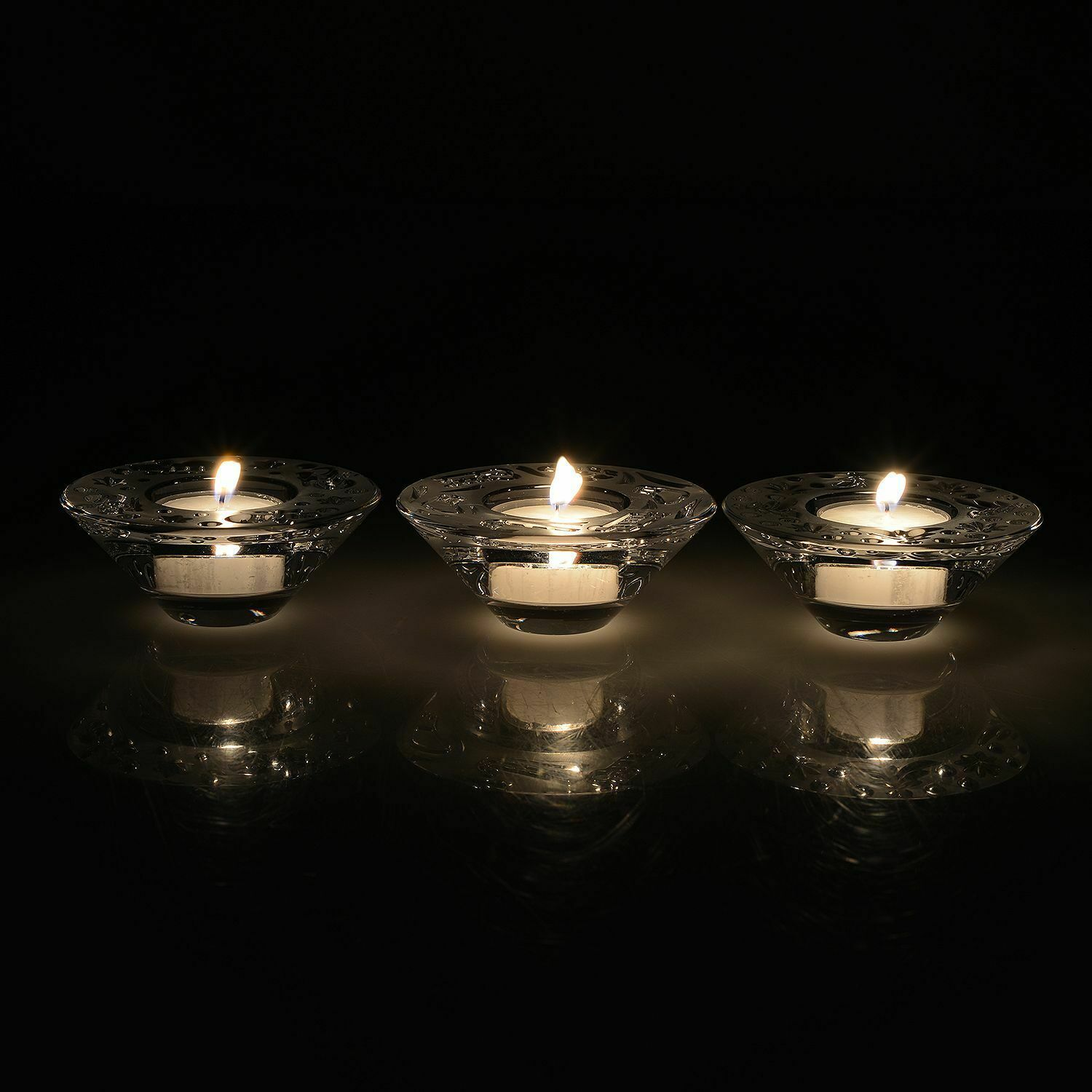 Waterford Christmas Holiday Votive Set of 3 NEW #40032804 Packaged separately
