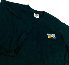 Laguna Seca Raceway Black T Shirt Sz M Fruit of the Loom - $34.99