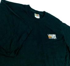 Laguna Seca Raceway Black T Shirt Sz M Fruit of the Loom - $34.99