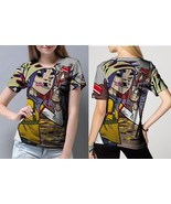 The Gorillaz Grafity Women's Fullprint T- Shirt - $20.99+