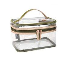 Transparent Cosmetic Travel Case/Clear Makeup Bag/PVC Plastic Cube