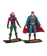 DC Direct Super Friends Deluxe Action Figure Set Superman Lex Luthor - $78.00