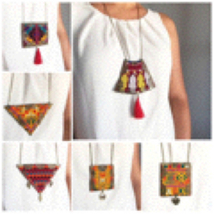 Traditional Vintage Handmade Necklace - $29.00