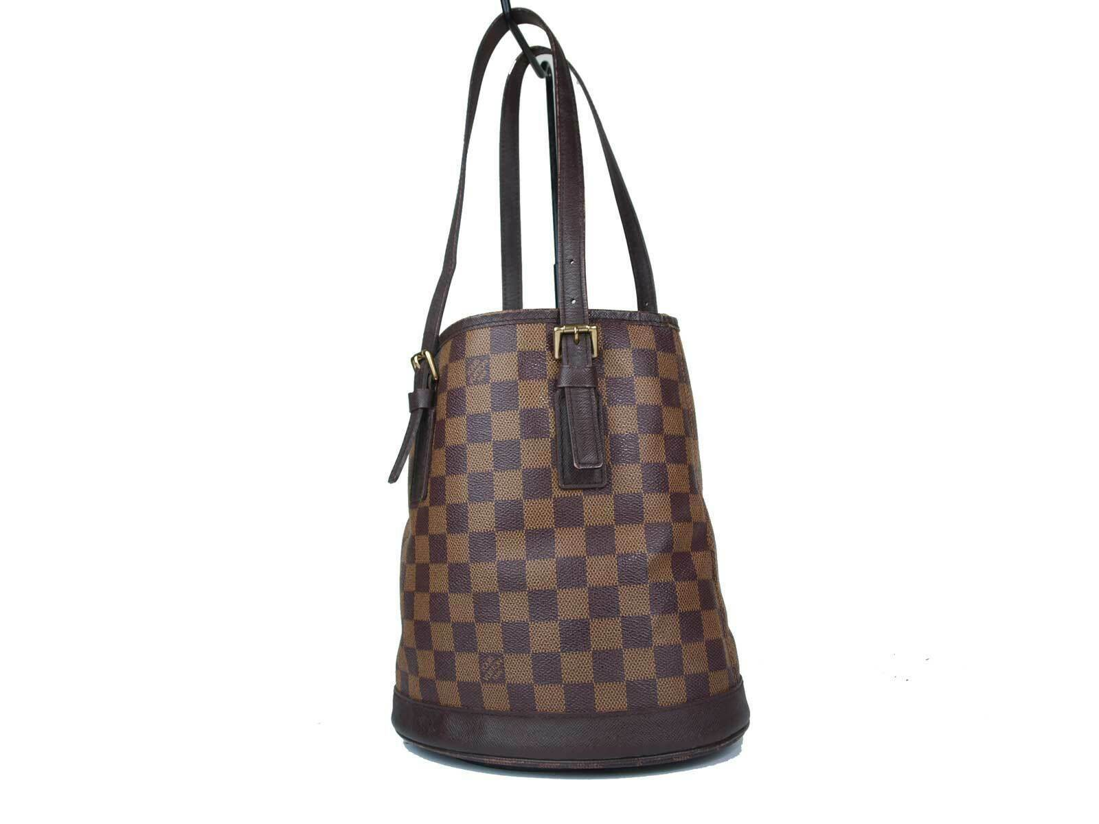 Auth LOUIS VUITTON Marais Damier Canvas Shoulder Bag LT17644L