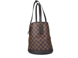 Auth LOUIS VUITTON Marais Damier Canvas Shoulder Bag LT17644L - $449.00