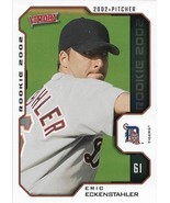 Eric Eckenstahler Victory 2002 #622 Rookie Card Detroit Tigers Chicago Cubs - $0.15