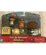 Dora the Explorer Nick Jr Fisher Price Let's Go Adventure On the Go 5 Piece Pack - $10.00