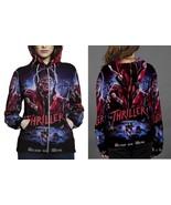 Women Sweater  M.J. Thriller Hoodie Fullprint Zipper Women - $51.99+