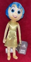 Disney Store Pixar Inside Out JOY Authentic Blue Hair Soft Doll Plush To... - $19.79