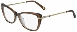 NEW NINE WEST NW 5164 210 Crystal Brown Eyeglasses 51mm with Case - $59.35