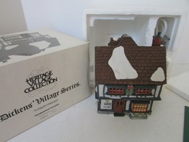 DEPT 56 55689 TUTBURY PRINTER LIGHTED BUILDING W/CORD  D1 - $19.55