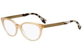 FENDI  Eyewear FF0079 E0O 53 Havana Tortoise Eyeglasses Frame 140  53-17 - $148.49