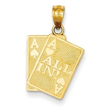 14K Yellow Gold A's All In Pendant - $162.99