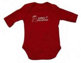 """Preemie & Newborn """"Baby's 1st Christmas"""" Long Sleeve Onesie - $7.00"""
