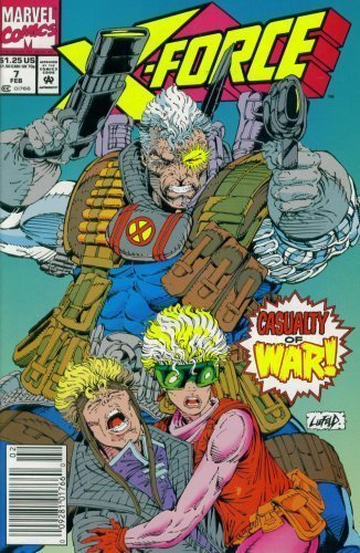 X-Force #7 : Under the Knife (Marvel Comics) [Comic] [Jan 01, 1992] Fabian Nicie