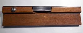Genuine Oem Mercedes 72 280SEL Glove Box Compartment Door Wood W/ Key - $112.10
