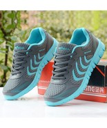 Women Shoes Sneakers Lace Up Glitter Sequin Comfort Athletic S Flat Tenn... - $27.99