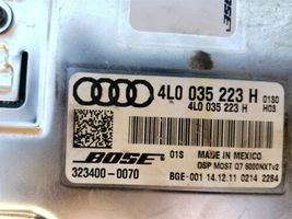 Volkswagen Audi Bose Amplifier- 4L0035223H, 323400-0700 image 5