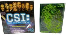 "CSI: Crime Scene Investigation ""Unbalanced Death"" 750-Piece Puzzle W/ Fr... - $19.79"
