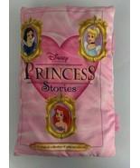 Disney Princess Stories Soft Stuffed Plush Cloth Book Pillow Snow White ... - $19.30