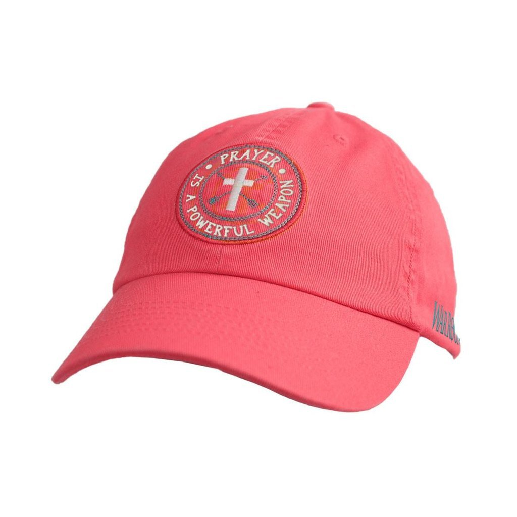 "WOMEN'S ""WAR ROOM"" CHRISTIAN CAP ""PRAYER IS A POWERFUL WEAPON"""