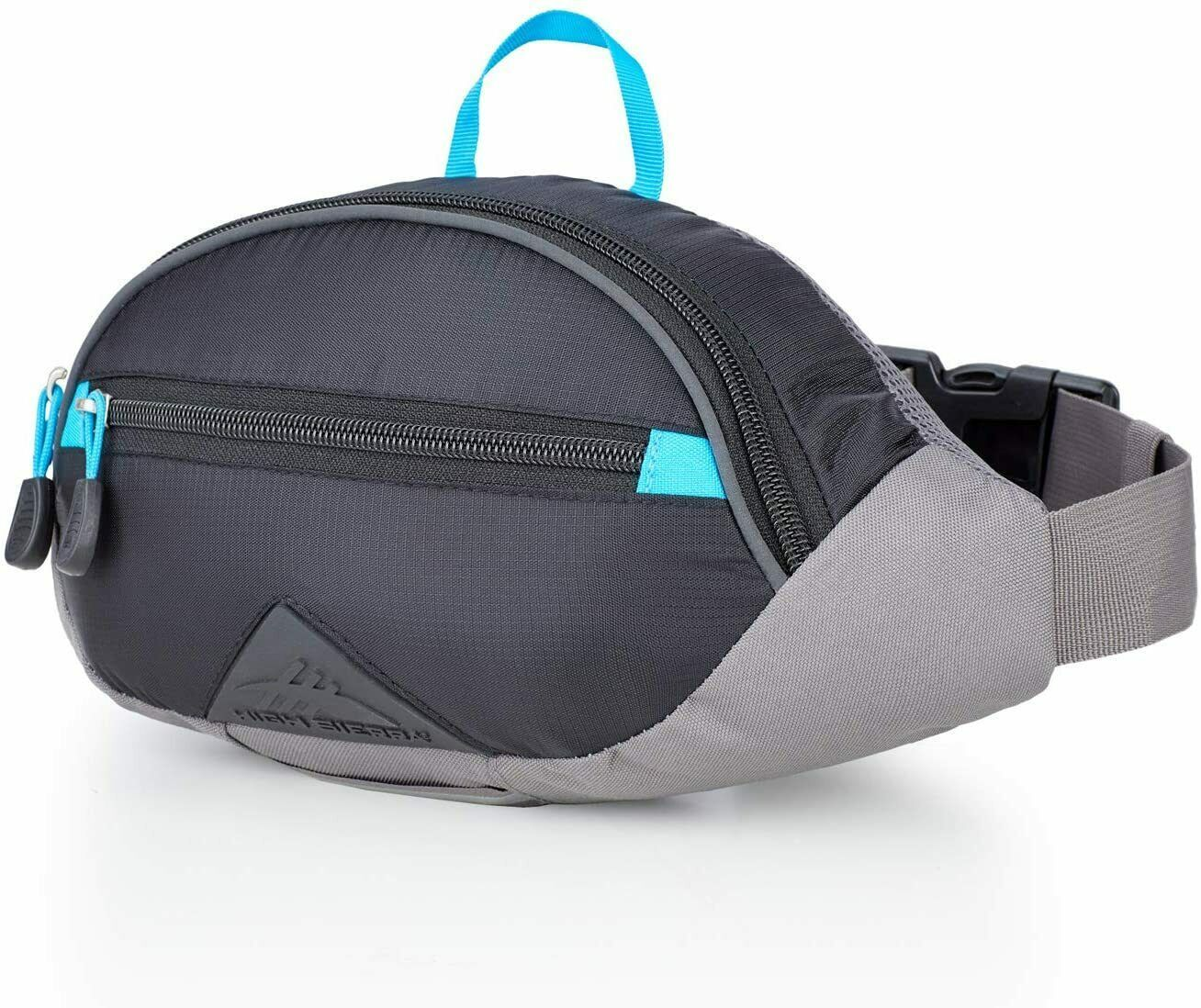 High Sierra HydraHike Waist Pack, Black/Slate/Pool, 1.5L 122661-6853 - $15.99