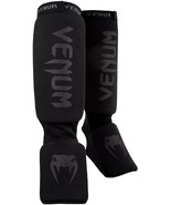 "Venum ""Kontact"" Shin and Instep Guards black/black - $80.00"
