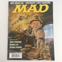 Mad Magazine August 1998 No. 372 Alfred Neuman Explores Cave Very Fine VF 8.0 - $7.55