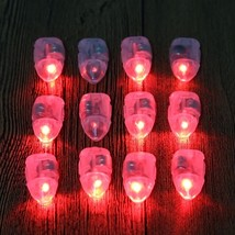 (red)Christmas Sale 12Pcs Mini LED Party Lights for Lantern Small Balloo... - £12.25 GBP