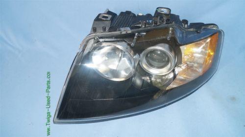 03-06 Audi A4 Cabrio Convertible XENON HID Headlight Driver Left Side LH