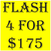 TUESDAY PICK ANY 4 FOR $175  DEAL BEST OFFERS DISCOUNT MAGICK  - $175.00