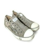 Ugg Womens 7.5 Laela Sparkles Sequined & Leather Sneakers Silver Gray - $44.54