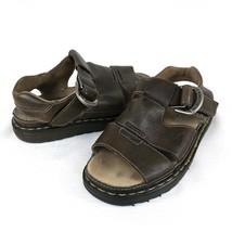Dr Doc Martens 9667 Mens 9 Oiled Leather Fisherman Sandal Made in Englan... - $64.38 CAD