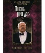 DVD Murder in Three Acts: Peter Ustinov Tony Curtis  Emma Samms Pedro Ar... - $15.29