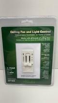 Hunter Universal 3-Speed Ceiling Fan & Light Control Dual Slide Switch 27182 - $18.76