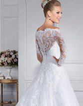 Women New Style Sweetheart A-Line Bridal Wedding Gown image 3