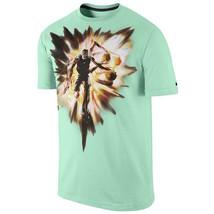 NIKE KD Speed T-Shirt sz XL X-Large Arctic Green Kevin Durant Explosion Warriors - $29.99