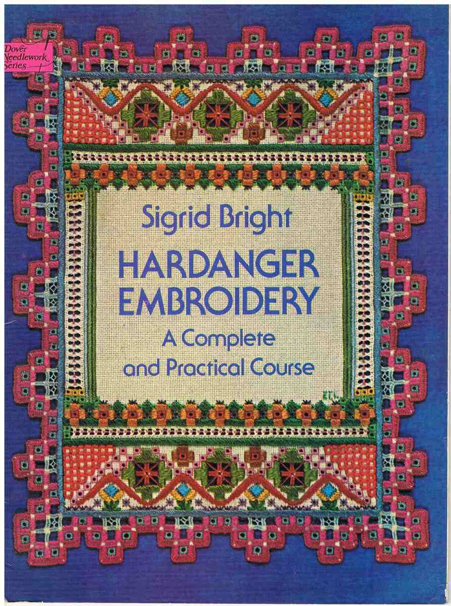 Sigrid bright hardanger embroidery