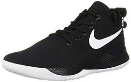 Nike Men's Lebron Witness III Basketball Shoe Black/White/Cool Grey Size... - $113.34