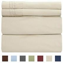 Queen Size Sheet Set - 4 Piece Set - Hotel Luxury Bed Sheets - (Queen Be... - $39.01