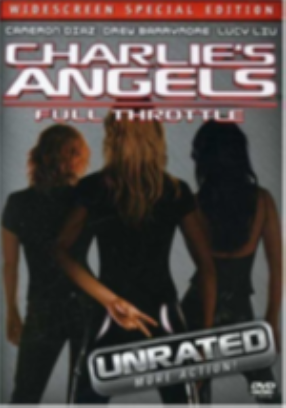 Charlie's Angels: Full Throttle Dvd