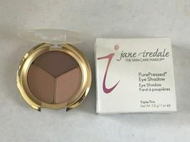 Jane Iredale PurePressed Pressed Eye Color Eyeshadow Trio Triple Cognac - $20.00