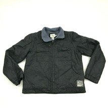 VINTAGE Calvin Klein Convertible Jacket Size Small S Adult Black 2-in-1 ... - $27.33