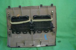 07-12 Nissan Versa Center Upper Dash Vent Bezel Trim Panel Tan/Brown image 11