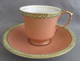 Occupied Japan Teacup & Saucer Set Demitasse Size Pink - $7.50